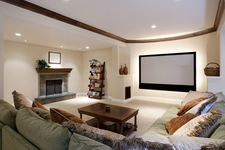 5289911 - wide angle of theater room